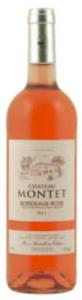 Château Montet Rosé 2011, Ac Bordeaux Rosé Bottle