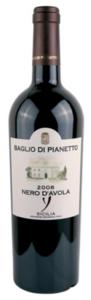 Baglio Di Pianetto Nero D'avola 2009, Igt Sicilia Bottle