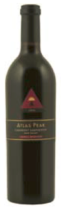 Atlas Peak Cabernet Sauvignon 2006, Howell Mountain, Napa Valley Bottle
