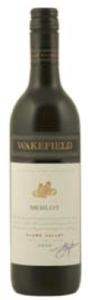 Wakefield Merlot 2010, Clare Valley, South Australia Bottle