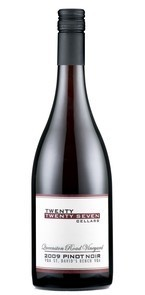 Twenty Twenty Seven Cellars Queenston Road Vineyard Pinot Noir 2010, St Davids Bench, Niagara Peninsula Bottle