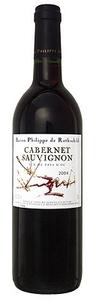Philippe De Rothschild Cabernet Sauvignon 2010, Pays D' Oc Bottle