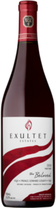 "Exultet ""The Beloved"" Pinot Noir 2010, VQA Prince Edward County Bottle"