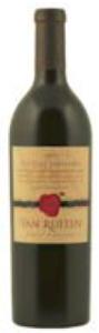 Van Ruiten Old Vine Zinfandel 2009, Lodi Bottle