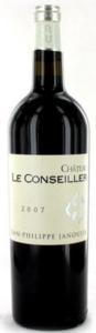 Château Le Conseiller 2008, Ac Bordeaux Supérieur Bottle