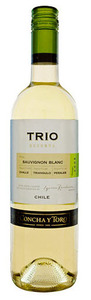 Concha Y Toro Trio Reserva Sauvignon Blanc 2011, Casablanca/Rapel/Limarí Valleys Bottle