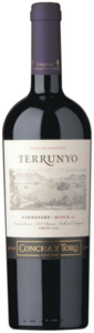 Concha Y Toro Terrunyo Vineyard Selection Cabernet Sauvignon 2009, Block Las Terrazas, Old Pirque Vineyard, Pirque, Maipo Valley Bottle