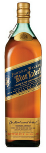 Johnnie Walker Blue Label, With Gift Box  Bottle