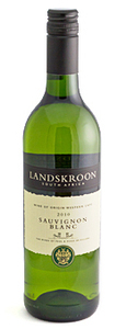 Landskroon Wines Sauvignon Blanc 2010 Bottle