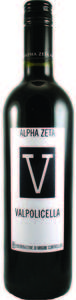 Alpha Zeta 'V' Valpolicella Doc 2010 Bottle