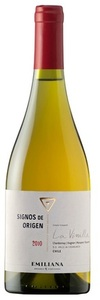 Emiliana Signos De Origen La Vinilla Chardonnay/Viognier/Marsanne/Roussanne 2010, Casablanca Valley Bottle