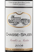 Chateau Chasse Spleen 2008, Moulis En Medoc Bottle