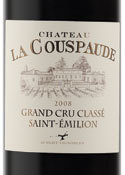 Chateau La Coupsade 2008, St. Emilion Grand Cru Classe Bottle