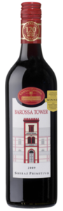 Chateau Tanunda Barossa Tower Shiraz/Primitivo 2009, Barossa Valley, South Australia Bottle