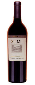 Simi Cabernet Sauvignon 2008, Alexander Valley, Sonoma County Bottle