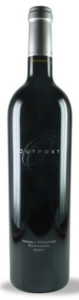 Outpost Zinfandel 2009, Howell Mountain, Napa Valley Bottle