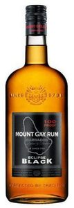 Mount Gay Eclipse Black Rum, Barbados Bottle