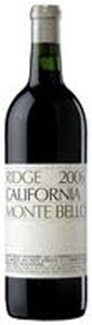 Ridge Vineyards Monte Bello 2006, Santa Cruz Mountains Bottle