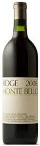 Ridge Vineyards Monte Bello 2008, Santa Cruz Mountains Bottle