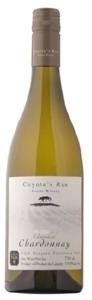 Coyote's Run Unoaked Chardonnay 2010 Bottle