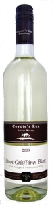 Coyote's Run Pinot Gris/Pinot Blanc 2010 Bottle