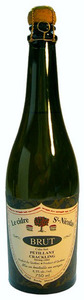 St Nicolas Brut Crackling Cider, Quebec Bottle