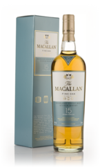 The Macallan Fine Oak 15 Years Old Highland Single Malt Scot Bottle