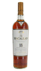 The Macallan Sherry Oak 18 Years Old Highland Single Malt Bottle