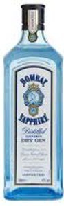 Bombay Sapphire London Dry Gin Bottle