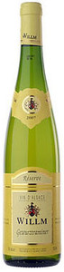 Alsace Willm Gewurztraminer 2010, Ac Alsace Bottle