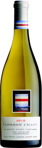 Closson Chase Vineyard The Loyalist Chardonnay 2010, VQA Prince Edward County Bottle