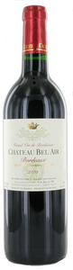 Chateau Bel Air 2010, Bordeaux Bottle