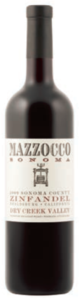 Mazzocco Dry Creek Valley Zinfandel 2009, Dry Creek Valley, Sonoma County Bottle