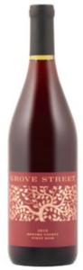 Grove Street Pinot Noir 2010, Sonoma County Bottle