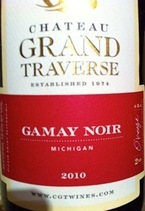 Chateau Grand Traverse Gamay Noir 2010 2010 Bottle