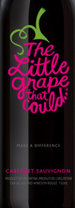 The Little Grape That Could Cabernet Sauvignon, Mendoza Bottle