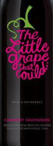 The Little Grape That Could Cabernet Sauvignon, Mendoza Bottle
