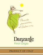 Danzante Pinot Grigio Delle Venezie 2011, Veneto Bottle