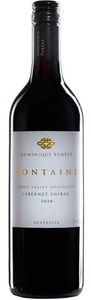 Domaine Portet Fontaine Shiraz/Cabernet/Merlot 2010, Yarra Valley/Heathcote, Victoria Bottle