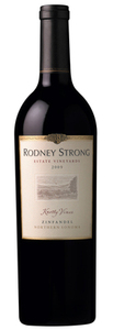 Rodney Strong Knotty Vines Zinfandel 2009, Northern Sonoma Bottle