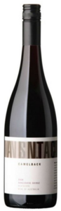 Camelback Shiraz 2008, Sunbury Bottle