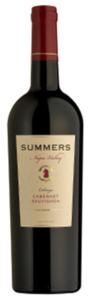 Summers Napa Valley Cabernet Sauvignon 2009, Calistoga, Napa Valley Bottle