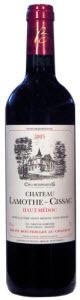 Château Lamothe Cissac 2005, Ac Haut Médoc Bottle