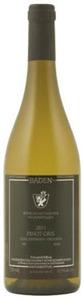 Königschaffhausener Vulkanfelsen Trocken Pinot Gris 2011, Qba Baden Bottle