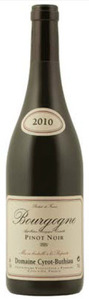 Domaine Cyrot Buthiau Pinot Noir Bourgogne 2010, Ac Bottle