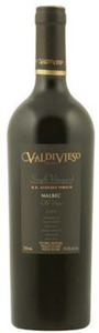 Valdivieso Single Vineyard Old Vines Malbec 2009, Do Sagrada Familia, Valle De Curico Bottle