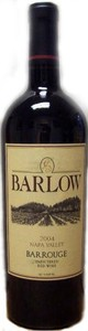 Barlow Barrouge Cabernet Sauvignon 2007, Napa Valley, Unfiltered Bottle