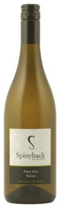 Spinyback Pinot Gris 2010, Nelson, South Island Bottle