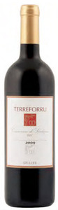 Meloni Terreforru Cannonau Di Sardegna 2009, Doc Bottle