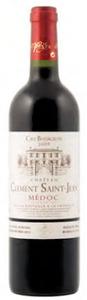 Château Clément Saint Jean 2009, Ac Médoc Bottle